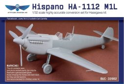 Hispano HA-1112 M1L conversion set for Hasegawa 1:32