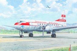 Convair CV-340 - Hawaiian Airlines 1:144
