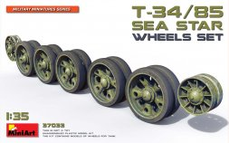 T-34/85 Sea Star Wheels set 1:35