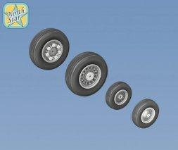 F-14 Tomcat wheels set 1:48