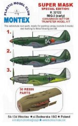MiG-3 early coversion set 1:32