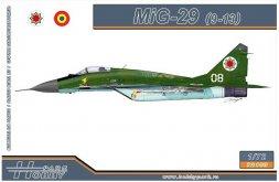 MiG-29S Fulcrum-C (9-13) 1:72