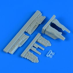 MiG-29 Fulcrum undercarriage covers 1:48