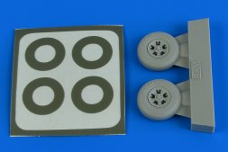 Spitfire Mk.I wheels (5-Spoke) & paint masks 1:48