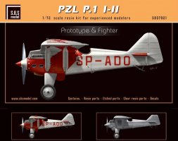PZL P.1 I/II Prototype & Fighter 1:72