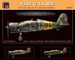 Fiat G.50 bis - German & Croatian Air Force 1:72