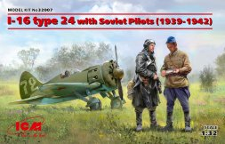 I-16 type 24 with Soviet Pilots (1939-1942) 1:32