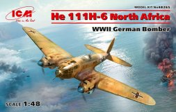 Heinkel He 111H-6 North Africa 1:48