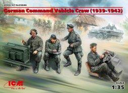 German Command Vehicle Crew (1939-1942) 1:35