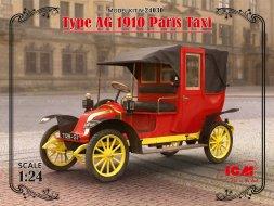 Renault Type AG 1910 - Paris Taxi 1:24