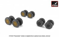 B-36 Peacemaker wheels 1:72
