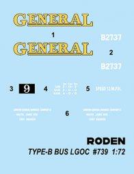 LGOC B-type Bus 1:72