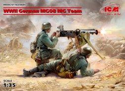 German MG08 MG Team WWII 1:35