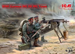 German MG08 MG Team WWI 1:35