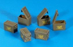 U.S. ammunition boxes cal. 5,56 1:35