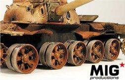 T-55/ T-62 burn out wheels 1:35