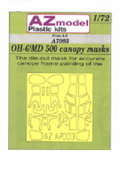 OH-6/MD 500 canopy mask 1:72