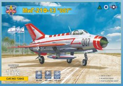 MiG-21F-13 007 Operation Diamond 1:72