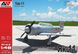 Yak-11 Military trainer 1:48