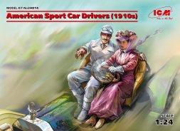 American Sport Car Drivers (1910s) 1:24