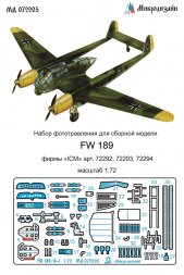 Fw 189A detail set for ICM 1:72