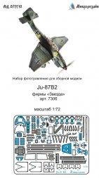 Ju 87B-2 detail set for Zvezda 1:72