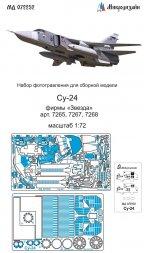 Su-24 detail set for Zvezda 1:72