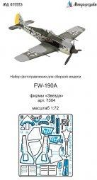 Fw 109A detail set for Zvezda 1:72