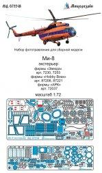 Mil Mi-8 exterior set 1:72