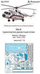 Mil Mi-8 cargo compartment for Zvezda 1:72