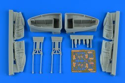Beaufighter TF.X wheel bay set 1:48