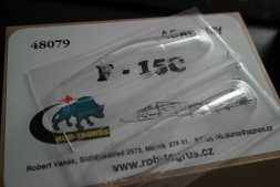 F-15C canopy for Academy 1:48