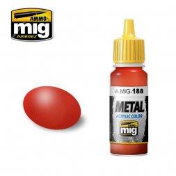 Metallic Red 17ml