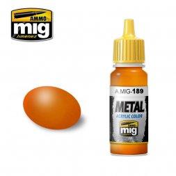 Metallic Orange 17ml