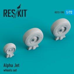 Alpha Jet wheels 1:72