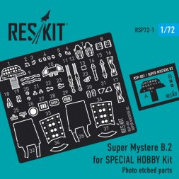 Super Mystere B.2 P.E. for Special Hobby 1:72