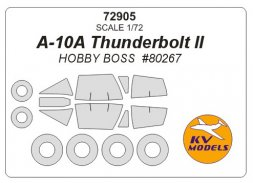 A-10A mask for Hobby Boss 1:72