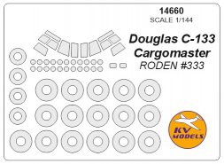 Douglas C-133 Cargomaster mask for Roden 1:144