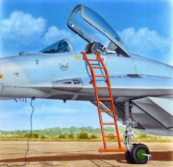 MiG-29 ladder 1:48