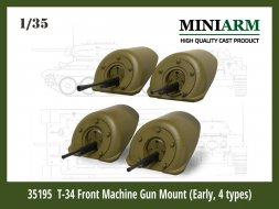 Т-34 Front Machine Gun Mount (Early, 4 type) 1:35