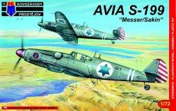 Avia S-199 Messer/Sakin 1:72