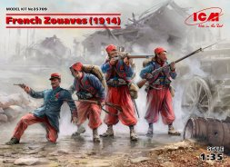 French Zouaves (1914) 1:35