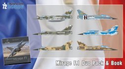 Mirage F.1 Duo Pack 1:72