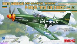 P-51D/K Mustang - 8th Air Force 1:48