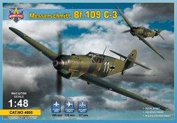 Messerschmitt Bf 109C-3 1:48