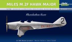 Miles M.2F Hawk Major - Macrobertson racer 1:72
