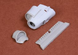 Ju 87B Stuka exhaust + radiator cowling for Airfix 1:72