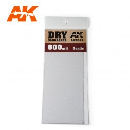 Sandpaper stripes Dry 800