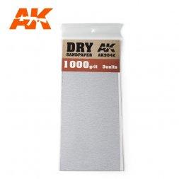Sandpaper stripes Dry 1000