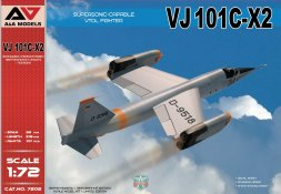 VJ 101C-X2 Supersonic-capable 1:72